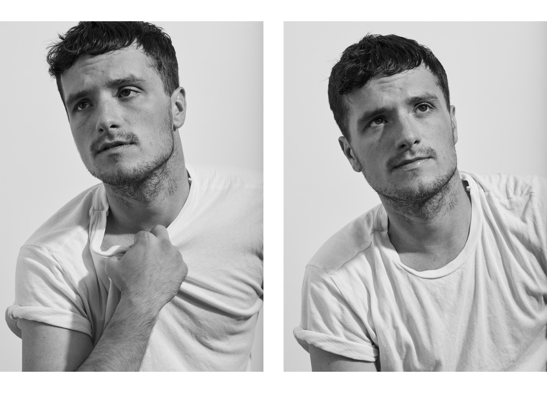 Josh Hutcherson, photographed for the NY Times Style