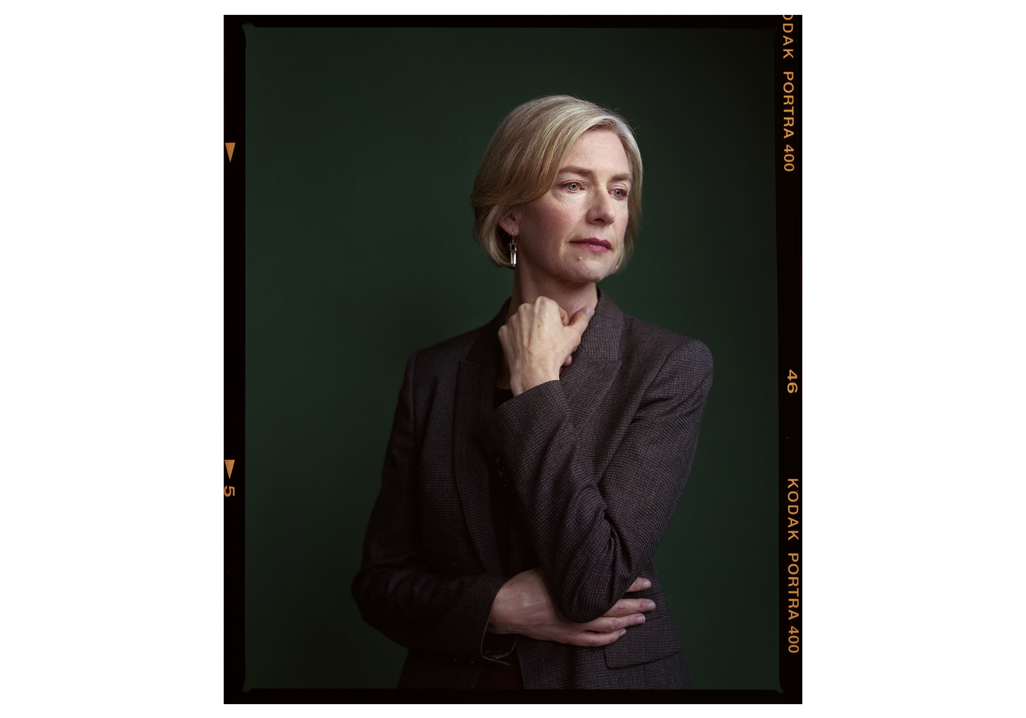 Jennifer Doudna, American Biochemist and co-inventor of CRISPR, photographed at UC Berkeley by Brad Torchia.