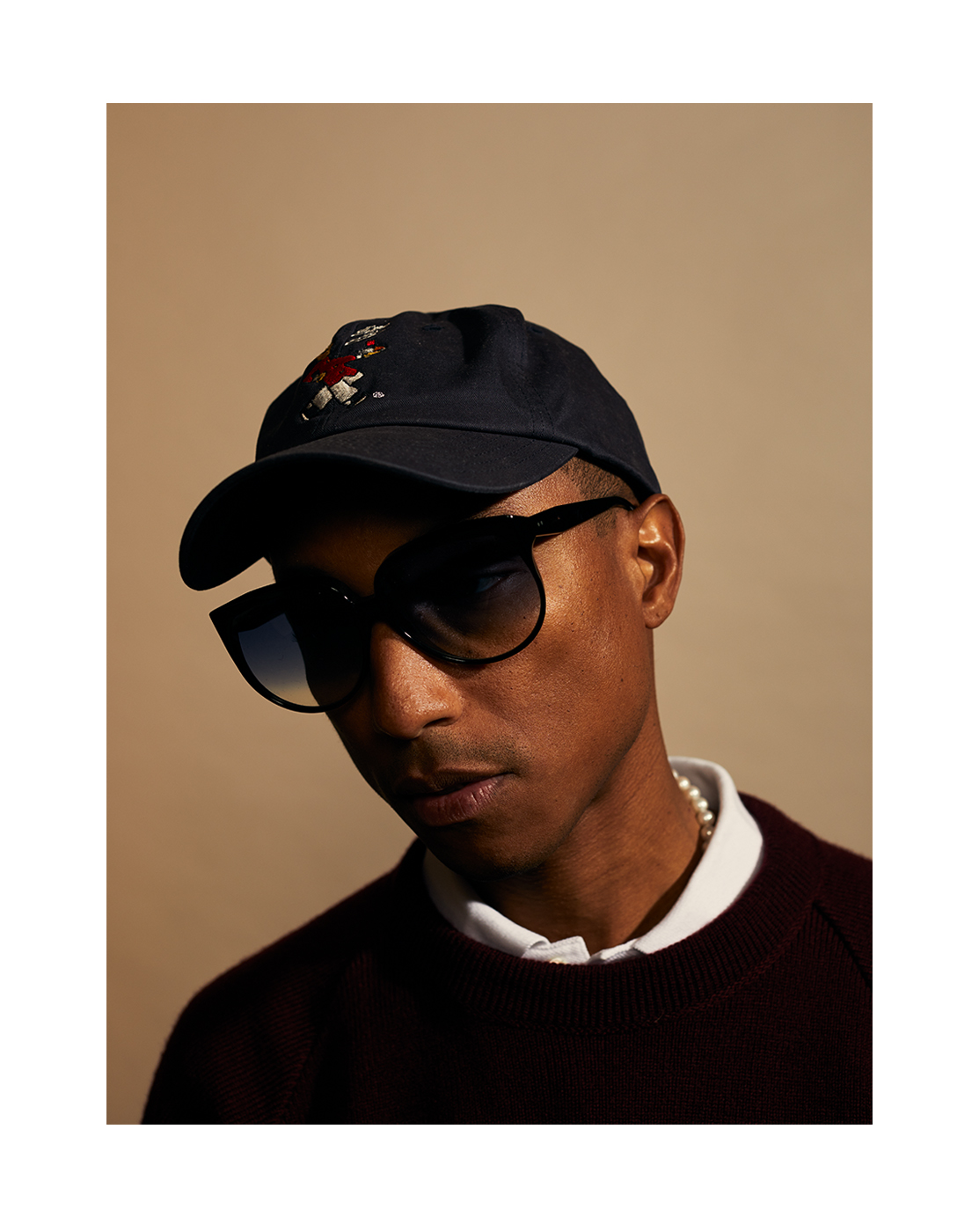 Pharrell, photographed for WWD by Brad Torchia