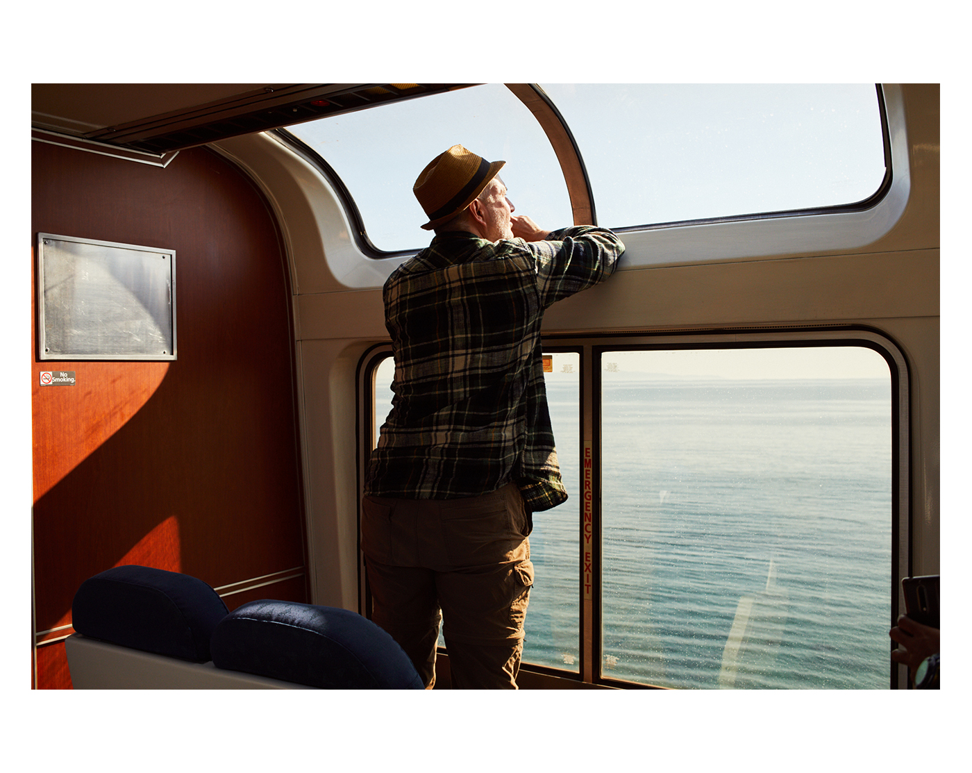 Coast Starlight Amtrak Journey, photographed by Brad Torchia.  Brad Torchia is an LA-based editorial and commercial photographer.