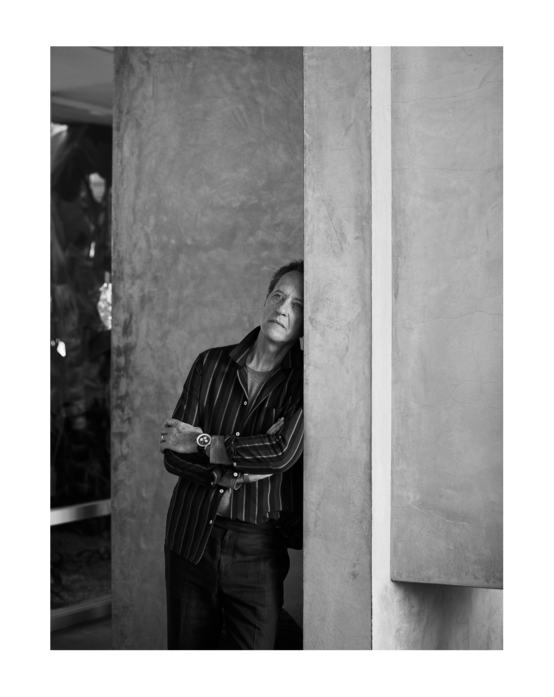 Richard E. Grant, photographed by Brad Torchia in Los Angeles, CA