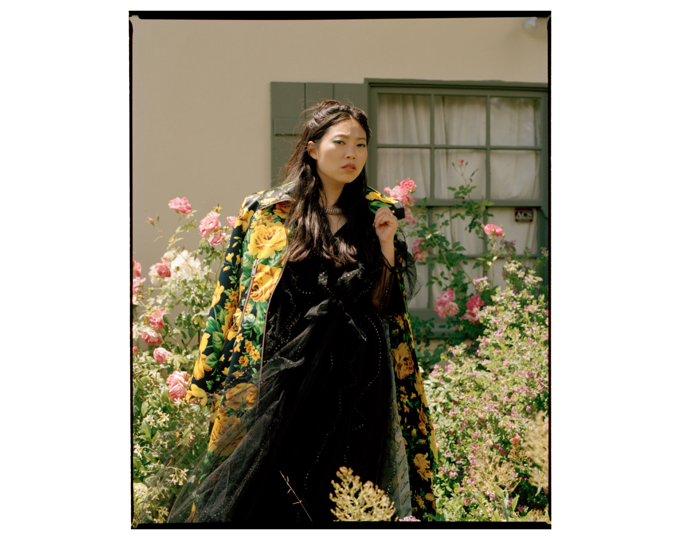 Awkwafina, photographed for WWD in Los Angeles, CA by Brad Torchia