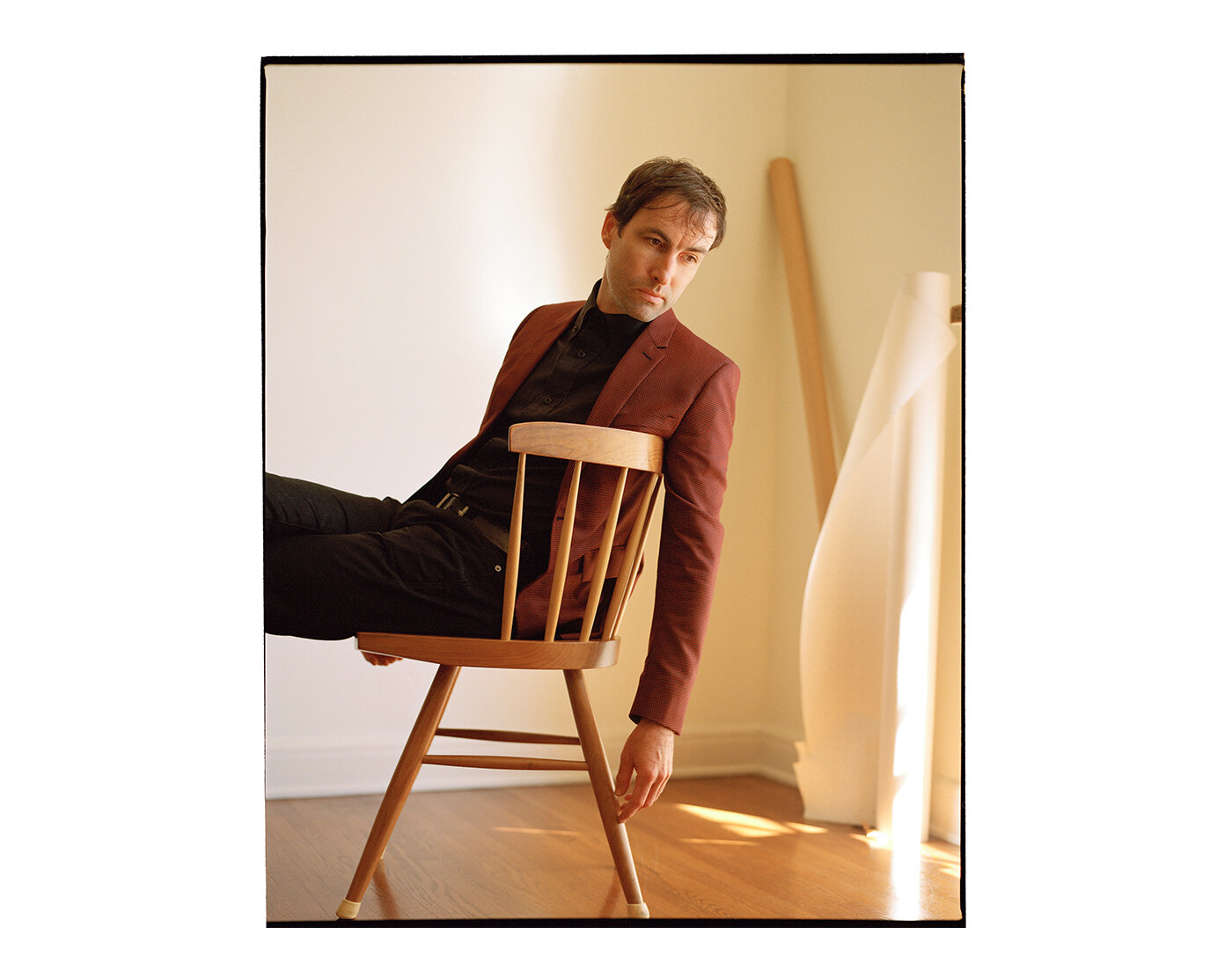 Andrew Bird, photographed by Brad Torchia in Los Angeles, CA