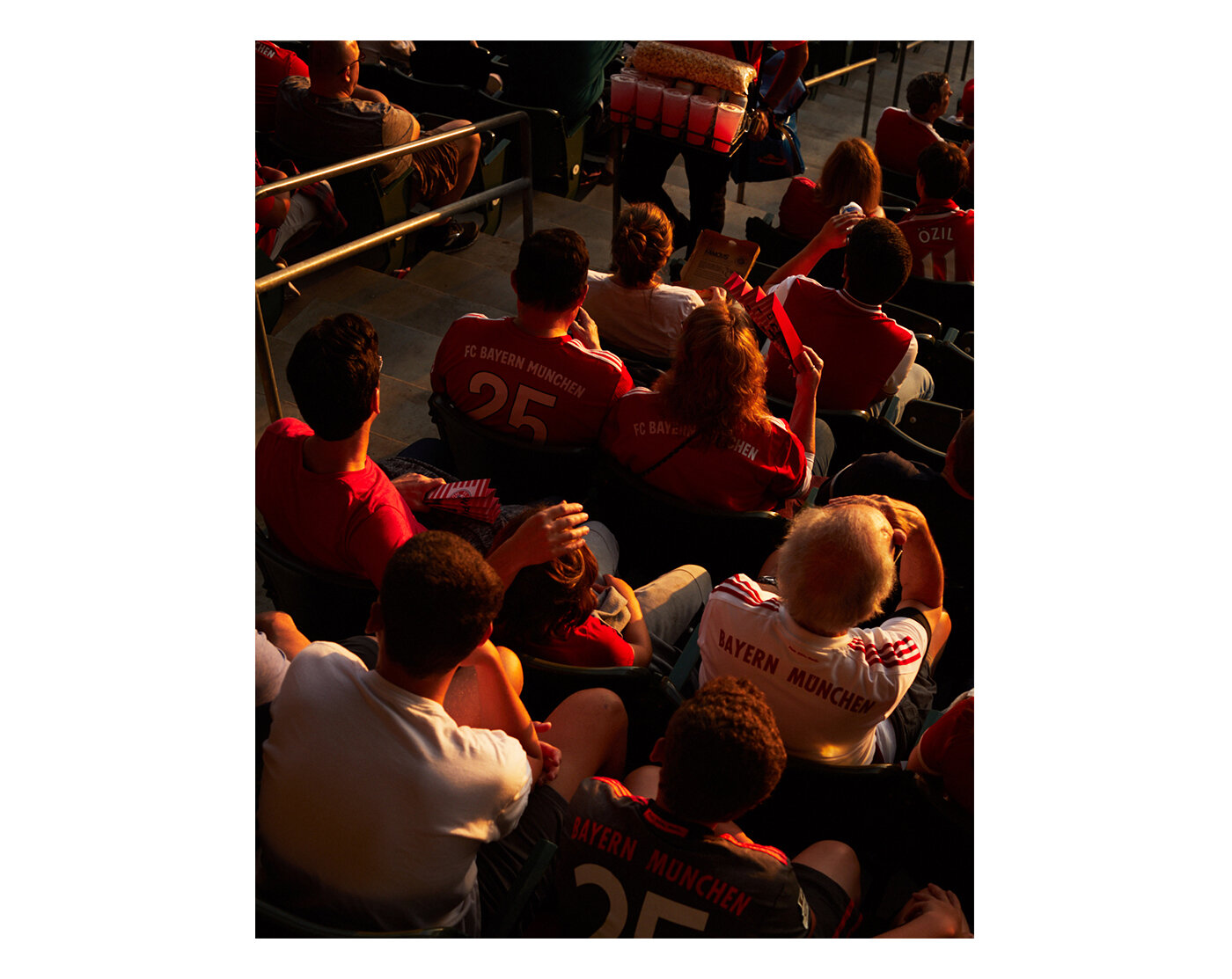 FC Bayern Munich in Los Angeles, photographed by Brad Torchia