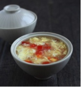 "Soups: Chowders & Bisques- ""Corn & Crab Chowder"""