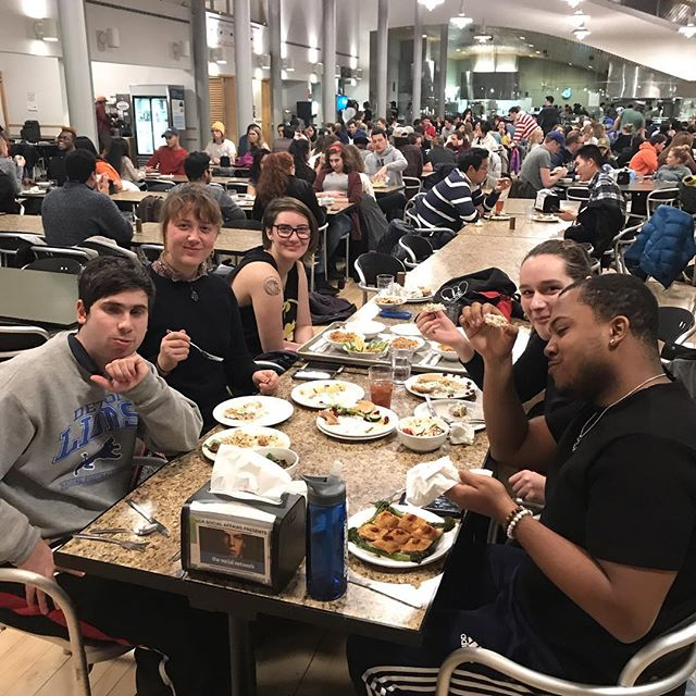 Ross Cooking Challenge! Judges are deliberating 🤔 Thanks for the food! @badbunnies.hunt @2expensive2tent @not_sharpest_spoon_in_drawer @the.cereal_killers @owlsgossip @teamsquaf9
