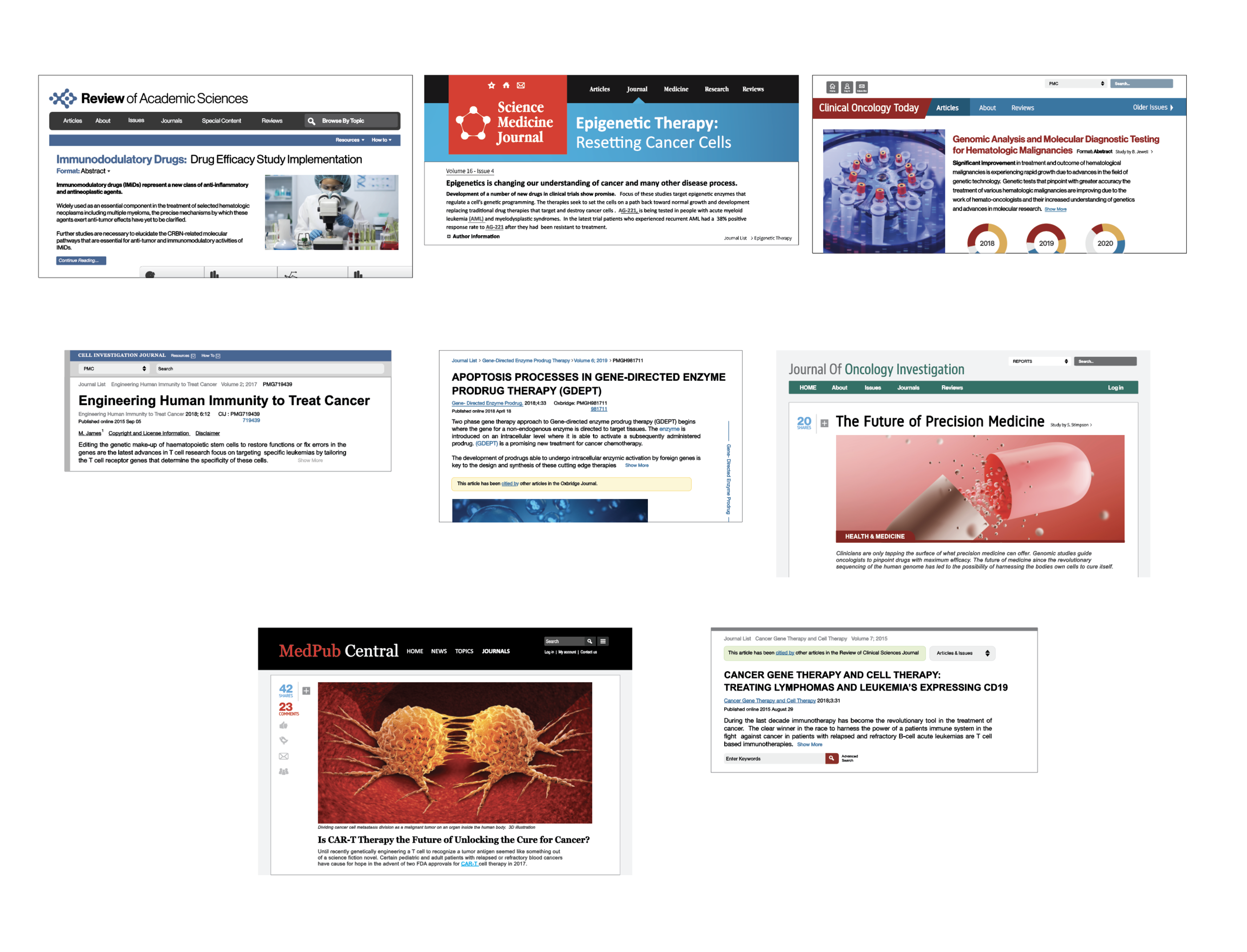 Science Web Articles
