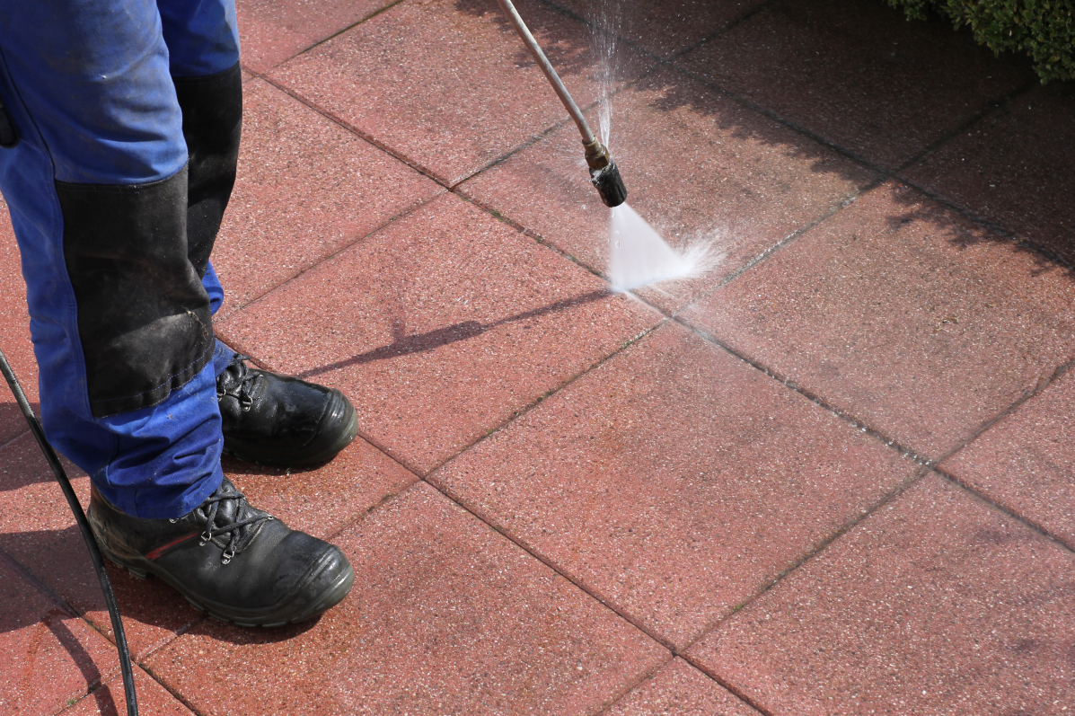 PRESSURE WASH EXTERIOR WALLS AND WALKWAYS  Over time, dirt and grime accumulate on your home's exterior walls and walkways. Rent a pressure washer, and give all those surfaces a good spray. If your home is relatively small, you can get away with using an electric washer. If it's bigger, go with a gas-powered one. If you are spraying siding or brick, you can spray as hard as you want. If you're spraying grout or a painted surface, move the nozzle back a little because the higher pressure can damage surfaces. You'll be amazed at how different your home will look afterward.