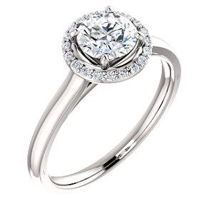Ella | Halo Style Engagement Ring
