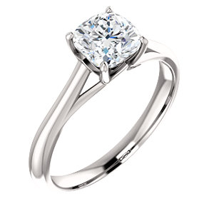 Michelle | 6-prong Solitaire Engagement Ring