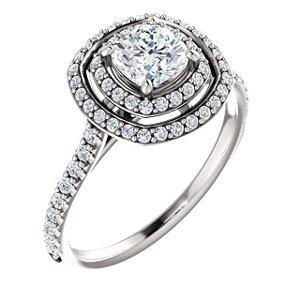 Corrine | Double Halo Style Engagement Ring