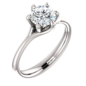 Elizabeth | 6-prong Solitaire Engagement Ring