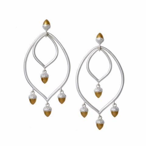 Acorn Chandelier Earrings