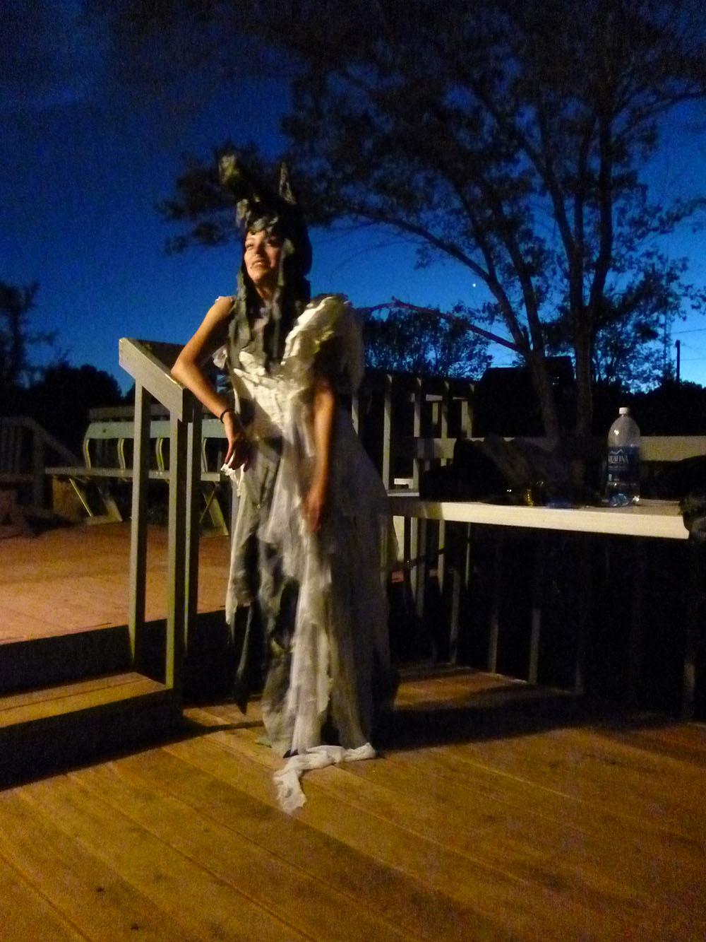 MT, Wolf dress.