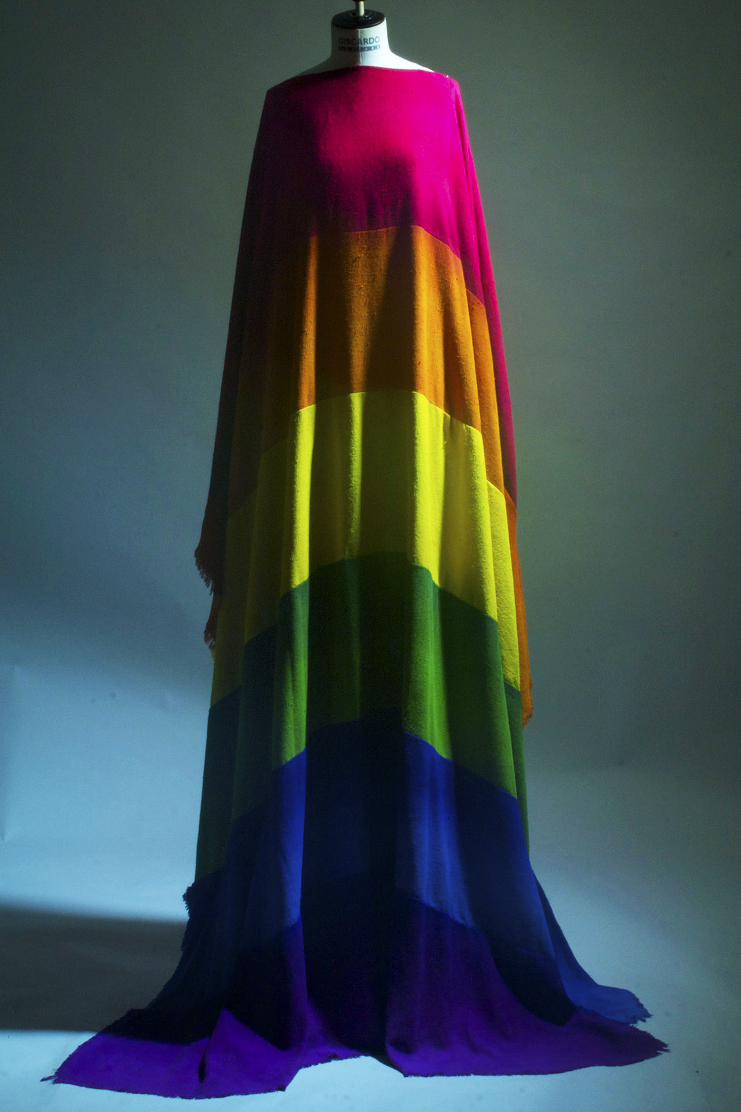 Rainbow piece collaboration with Kevin Lee Light/ Hollywood Jesus