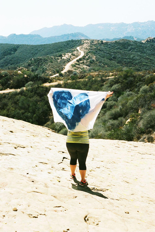 """""""Half sad, half hope"""" - Ann, on top of Eagle Rock"""