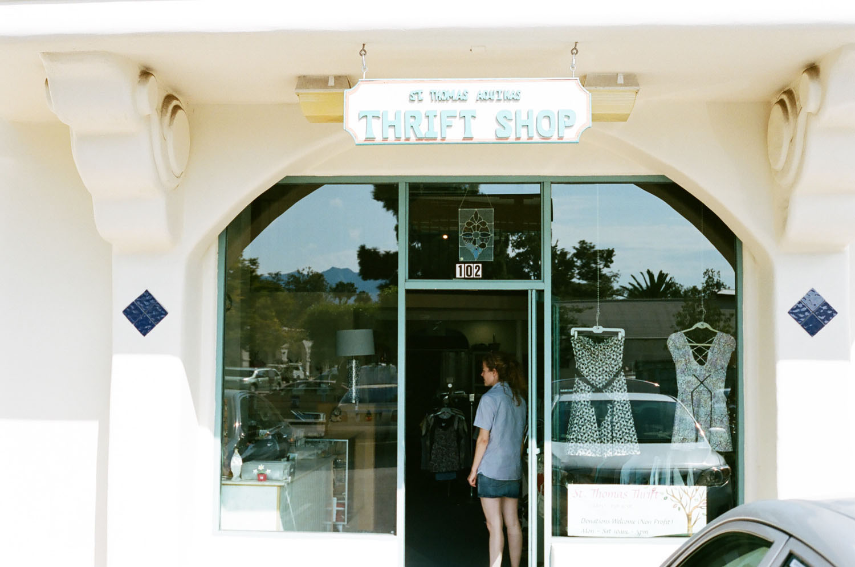 Miriam's thrift shop