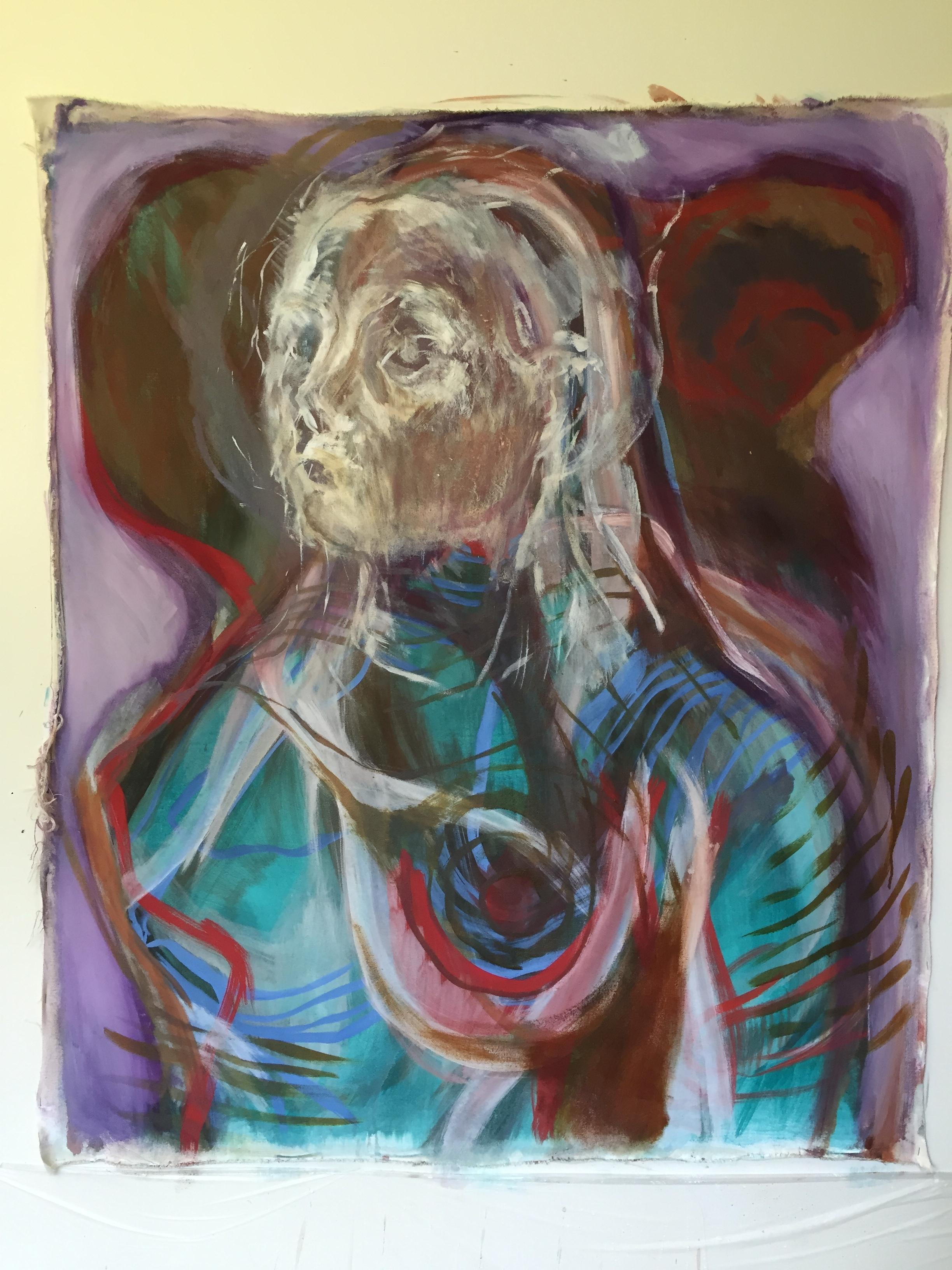 Felicity Brown Art painting Eve