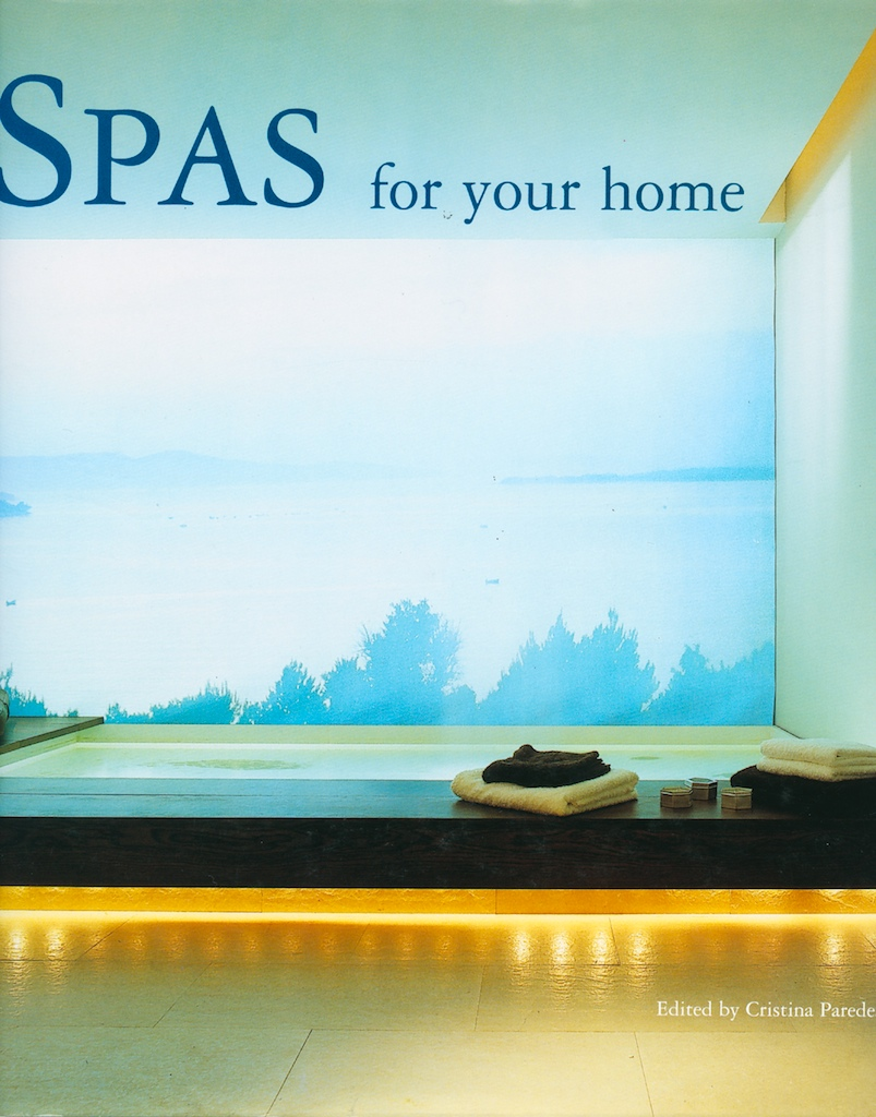Spas for Your Home, Front Cover.jpg