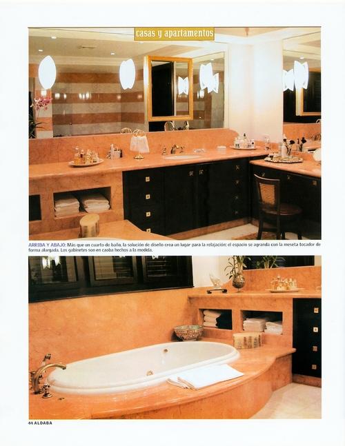 Jacuzzi Interior Medidas.Aldaba Magazine June 2003 Leopoldo Rosati Interior Design