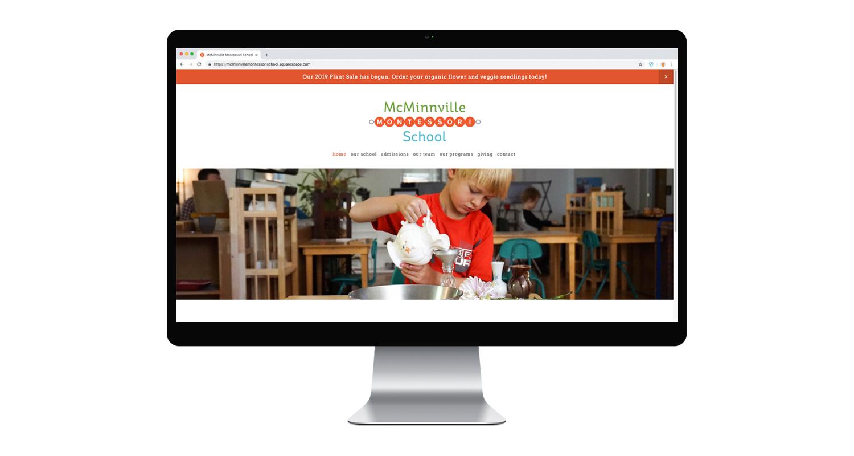 McMinnville Montessori website