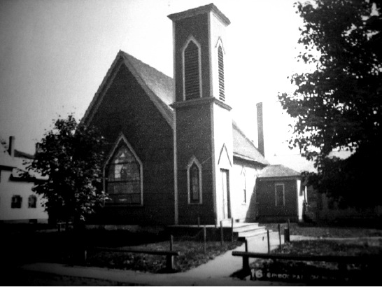 The original St. Paul's Church was built in White River Junction in 1874.