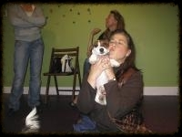 Tammy is passionate about working with young puppies training them through conditioning and positive reinforcement, while coaching owners on how best to handle difficult situations.