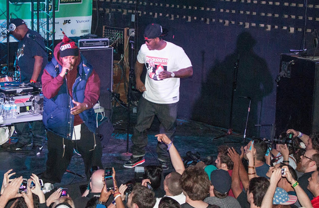 Ghostface Killah and Sheek Louch from The Lox