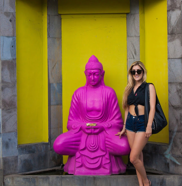 Pop Art Buddha in Seminyak