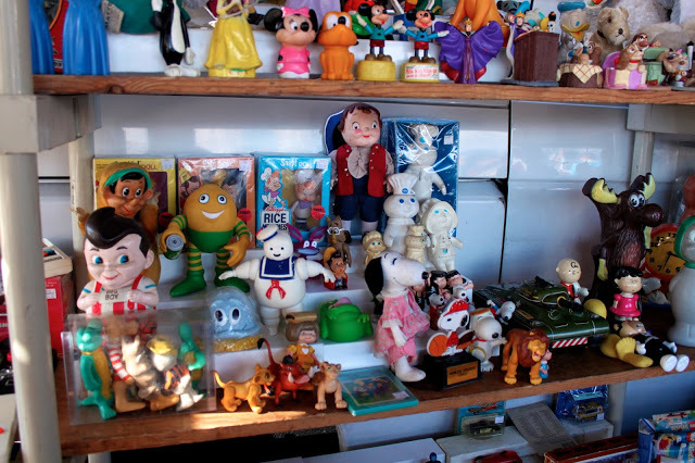 Toys toys toys. If you love toys, go to the flea market, you will find something you are looking for somewhere. Good condition, boxes, and manufacturer are KEY