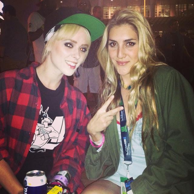 Alysha Nett and I at  Viceland