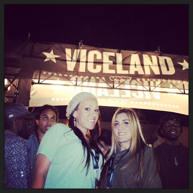 Helen and I at Viceland