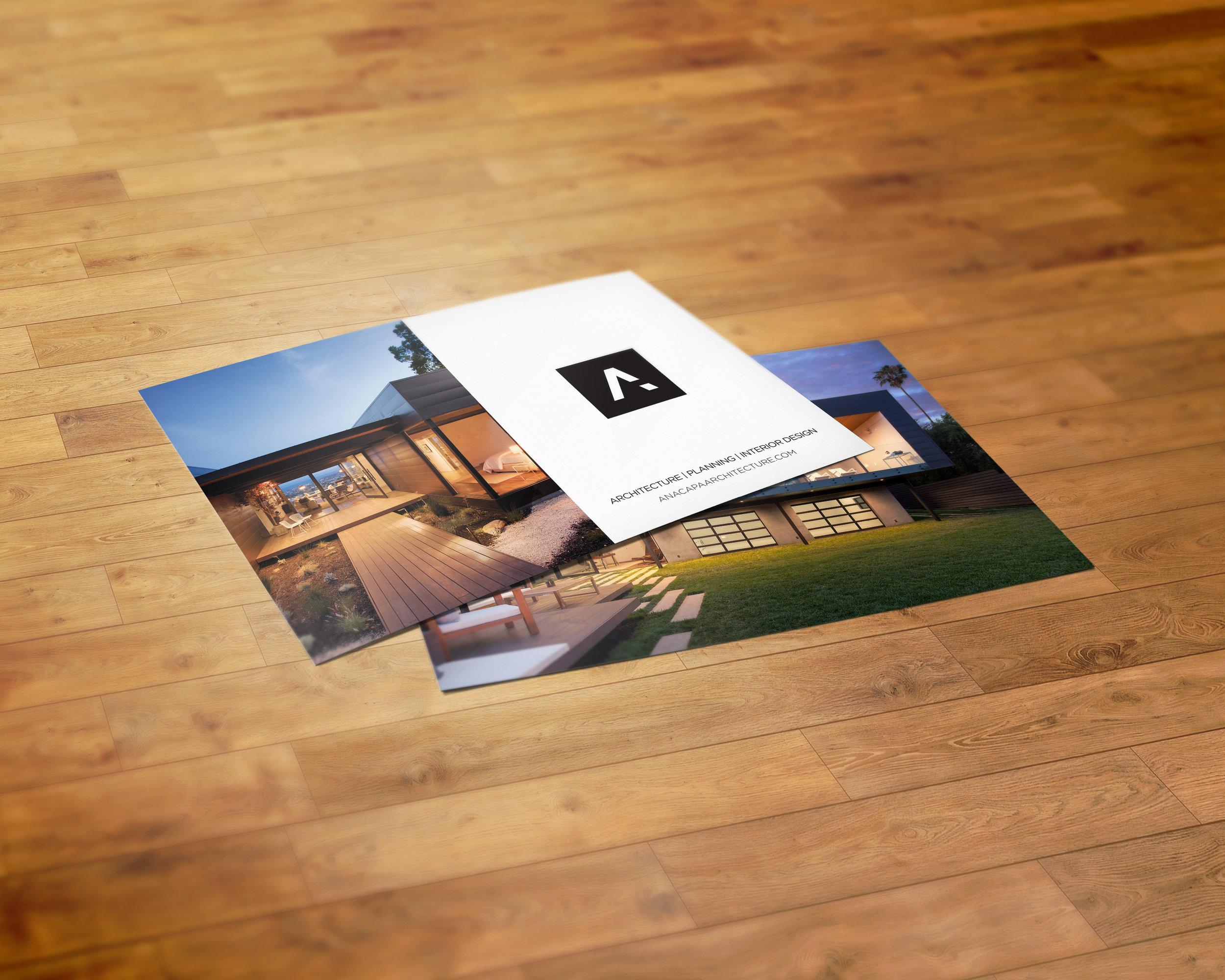 Anacapa Architecture Postcard Design