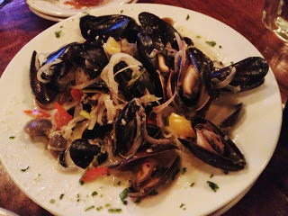 Green Curry Mussels and Clams