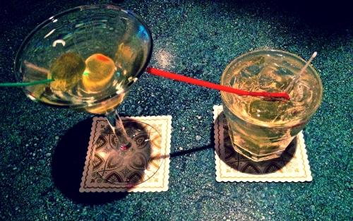 Martinis, two ways