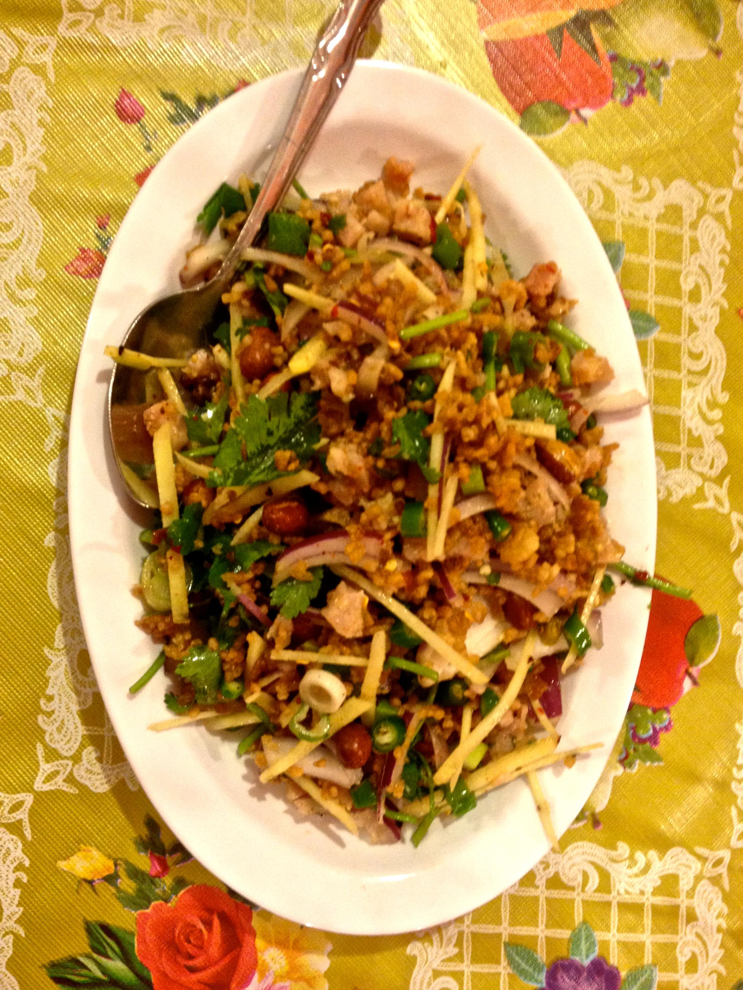 Crispy Rice Salad