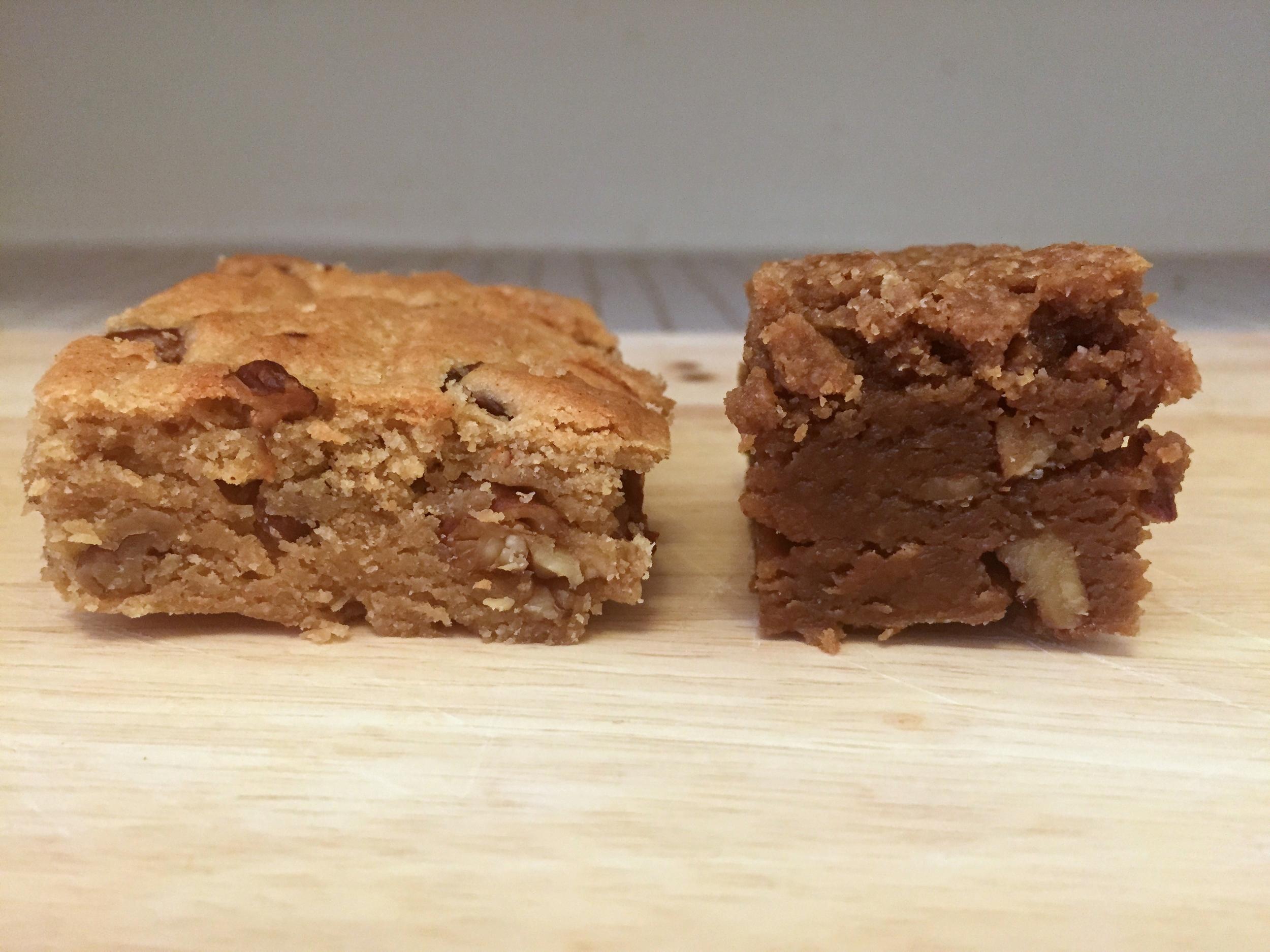 Cook's (left). bittman (right)