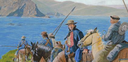 Juan Bautista de Anza  arrives at the Golden Gate.