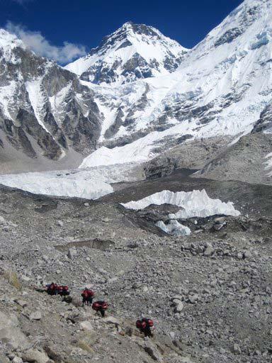 Everest Base Camp - photo courtesy of Nature Treks