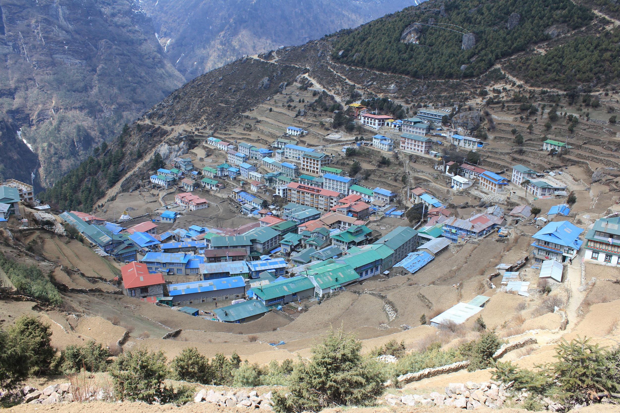 The Sherpa Capital Namche Bazaar