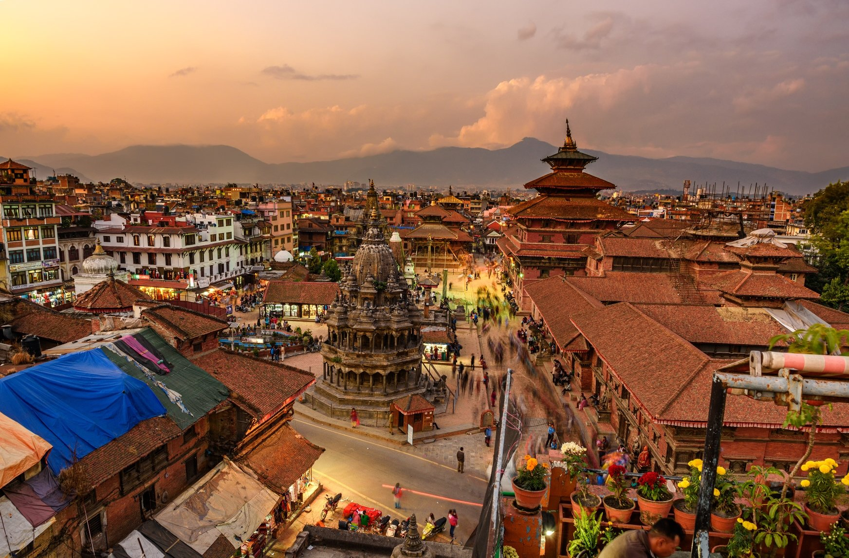 Begin your adventure in the bustling and vibrant city of Kathmandu.