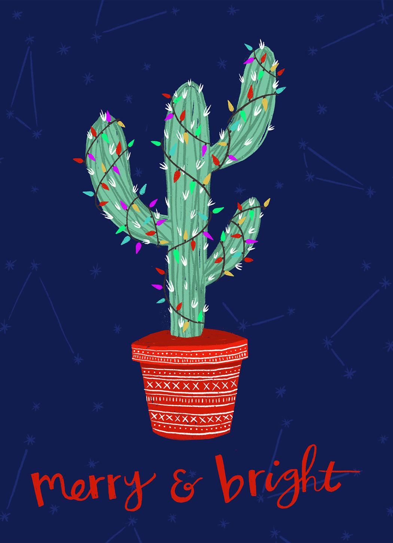 Merry & Bright Cactus