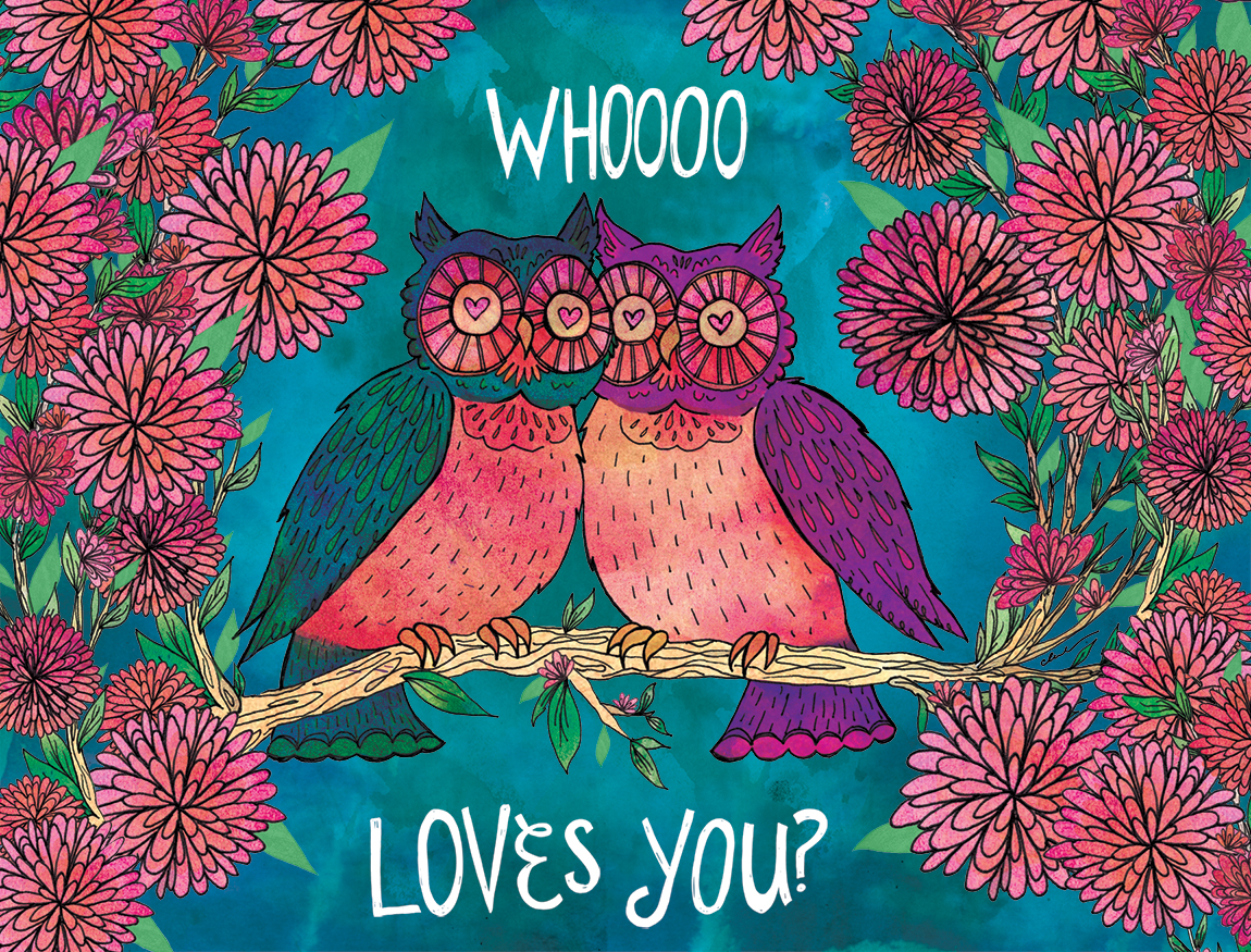 Whoooo Loves You?