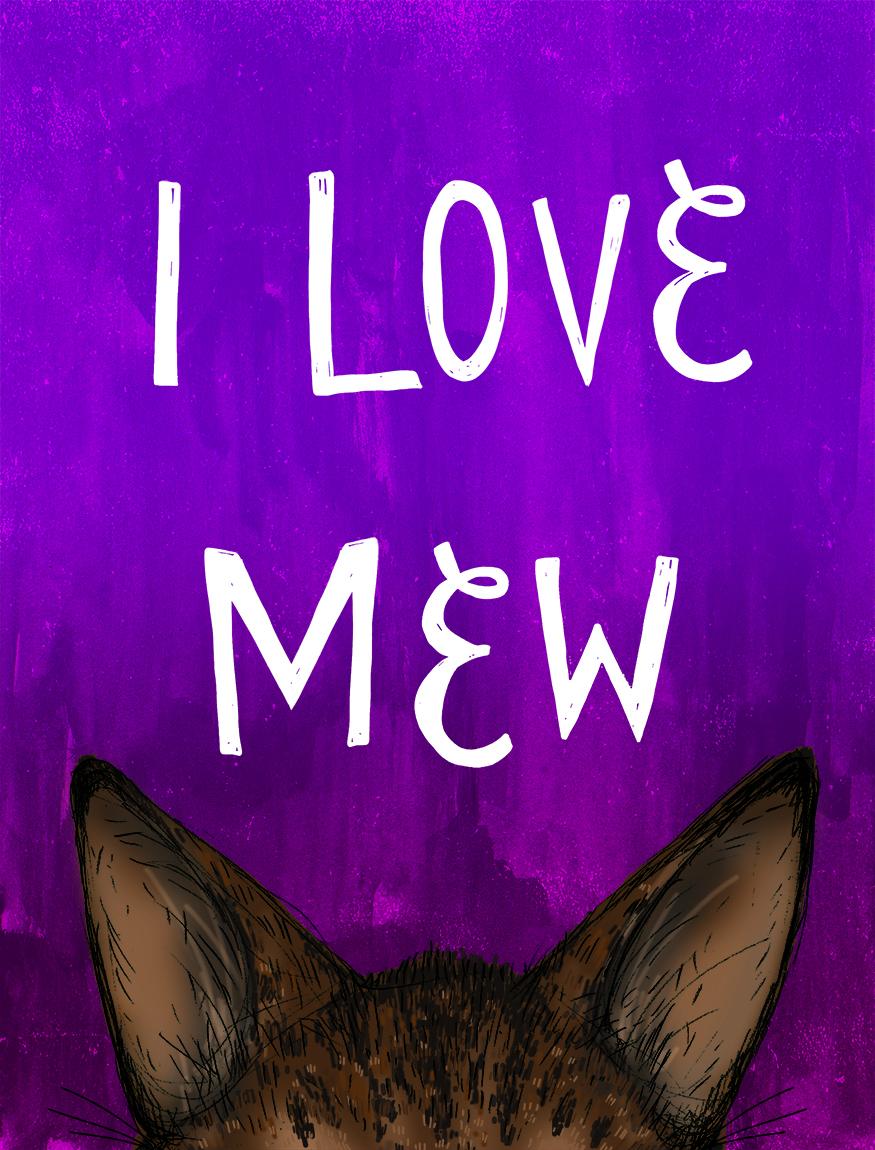 I Love Mew