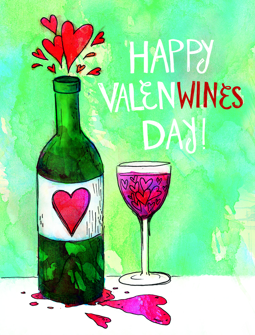 Happy ValenWine's Day!