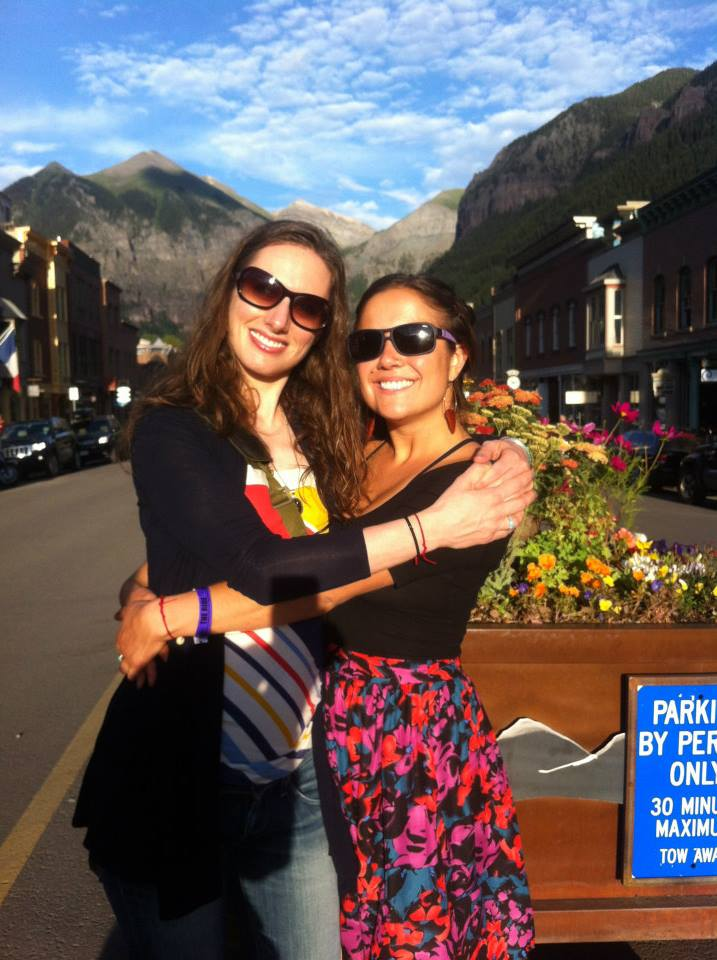 Allison and Naani in Telluride, 2013.