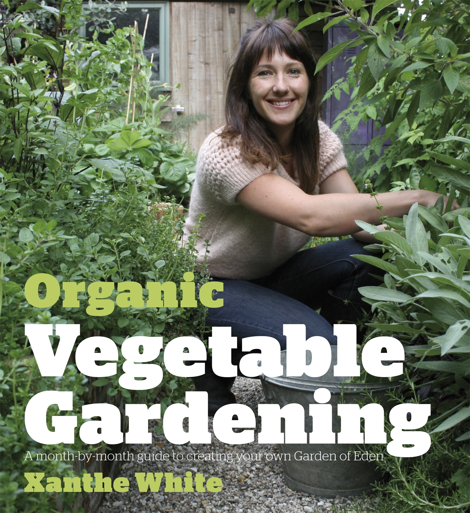 Organic Vegetable Gardening  Vegetable gardening is big again. Here's a book that takes readers by the hand and shows them how to go from backyard bombsite to organic Garden of Eden in one year. Author Xanthe White, New Zealand landscape-design star, documents a year in the garden she built from scratch in a rundown inner-city backyard, inspiring readers to realise that they can do it too. With a chapter for each month of the year, Xanthe's monthly diary inspires and confides, and her guides to sowing, planting, pests and diseases, making compost, mulching and more make it so easy for beginners to follow and get fabulous results and great crops.  There's plenty for experienced gardeners here, too. Xanthe's tips, techniques and infectious enthusiasm will get even the most seasoned gardeners wanting to try some new ideas. Most of all, she demystifies organics and makes it so easy to agree that this is the only way you should garden. Studded with great informational photographs, this book carves out new and unique territory that sets it apart from other gardening books. It is an inspirational and practical guide.  Random House NZ Godwit 2009