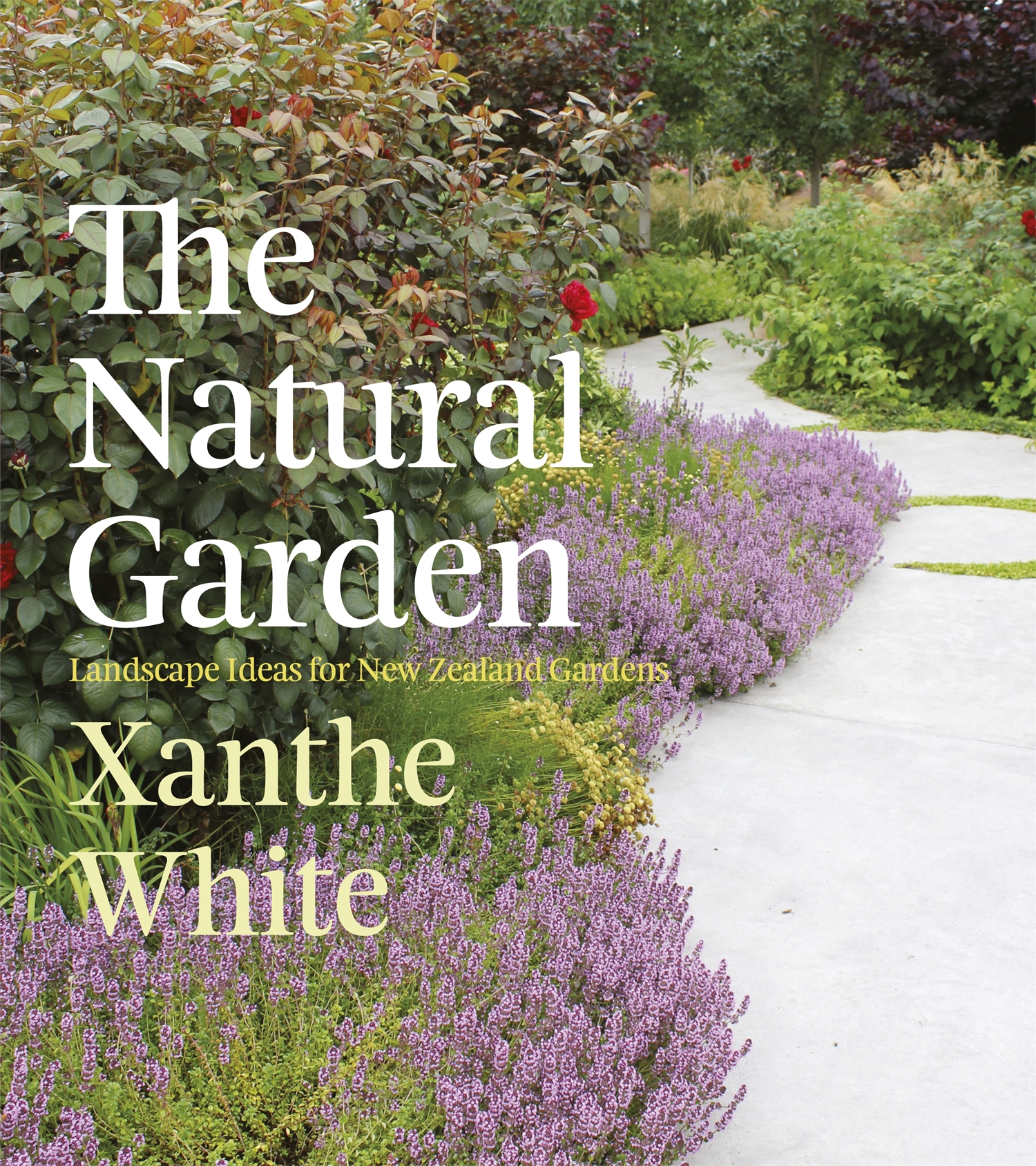The Natural Garden  A sumptuous and inspirational landscape design book that looks at how award-winning landscape designer Xanthe White's signature style, which she calls the 'natural' or 'wild' garden can be applied to flower, native, rural, dry, inner city, productive, subtropical, coastal, and small city wall and roof gardens.  Warmly and expertly written and lavishly illustrated with photos and Xanthe' sown hand-drawn plans, the book also contains best-plant guides for each garden type as well as growing and composting advice. It's almost as good as having Xanthe call round for a consultation!  Random House NZ 2012