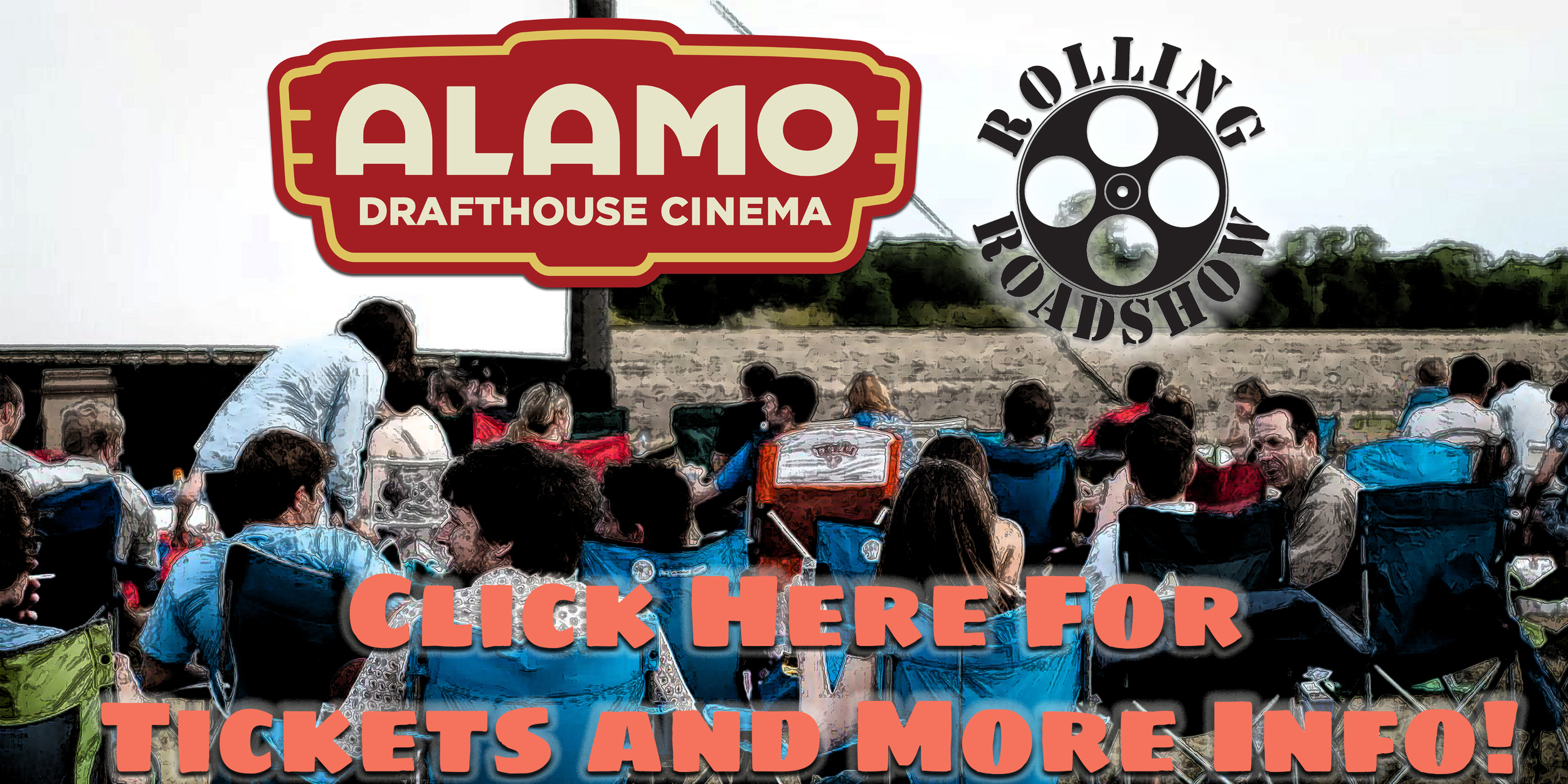 Alamo Drafthouse  will be bringing the  Rolling Roadshow to screen Bottle Rocket on site! There is no better way to see this fantastic film than at the very place it was made! Click the picture above for tickets and more info!