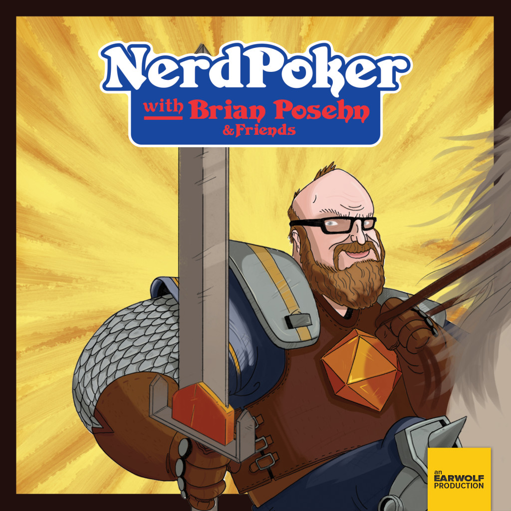 This years event got a lovely plugon the Derro Episode of the Nerd Poker podcast. Nerd Poker is an awesome D&D podcast hosted by comedian Brian Posehn. Click the image to hear the show! (Plugat around 25 minutes.)